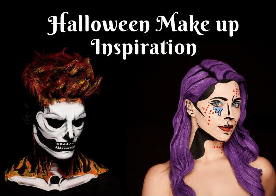 Halloween Make up Inspiration