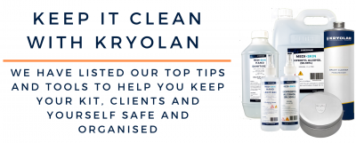 Keep It Clean With Kryolan